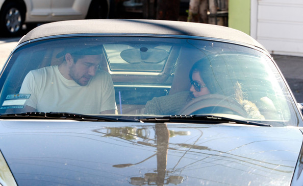Ashley Tisdale Actress Ashley Tisdale and her boyfriend Scott Speer leave Mo's restaurant after having breakfast in Toluca Lake.