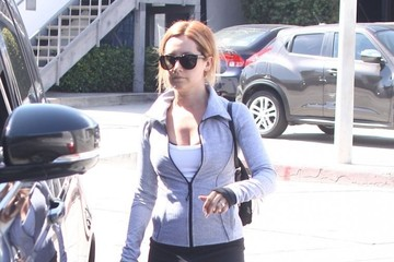 Ashley Tisdale Ashley Tisdale Stops by a Gym For a Workout
