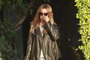 Ashley Tisdale Stops By The Andy Lecompte Salon