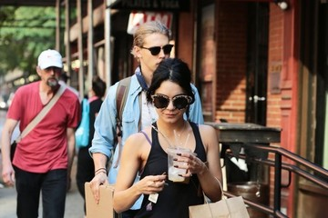 Austin Butler Vanessa Hudgens and Austin Butler Out and About in NYC