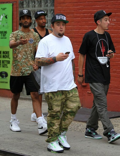 Pawn Stars' star Austin 'Chumlee' Russell shopping for sneakers with