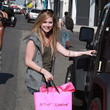 Avril Lavigne Shopping On Melrose Ave