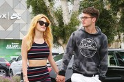 Bella Thorne and Gregg Sulkin Go Shopping