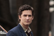 "British actor Ben Aldridge on location filming ""Heavenly"" in Vancouver."