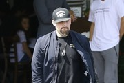 Rocker, Benji Madden was seen having lunch at Fred Segal in West Hollywood, California on April 28, 2017. The Rocker has been married to Cameron Diaz for close to 5 years.