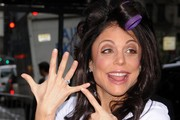 Bethenny Frankel seen arriving at the Four Seasons Hotel for her wedding in New York City, NY.