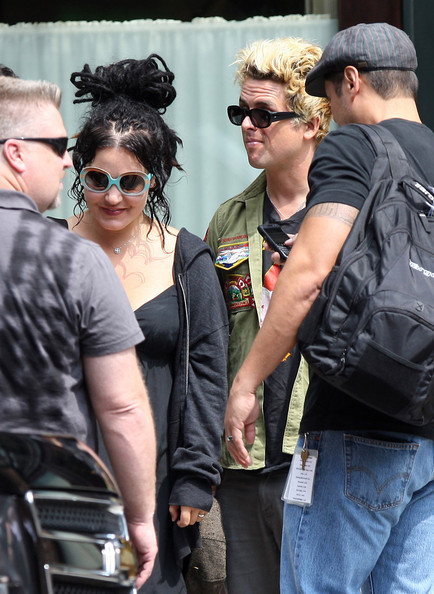 Billie Joe Armstrong Wife Out In New York City