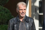 Billy Bob Thornton Leaving The Four Seasons Hotel
