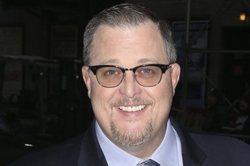 Billy Gardell Celebrities Appear on 'Late Night With Stephen Colbert'