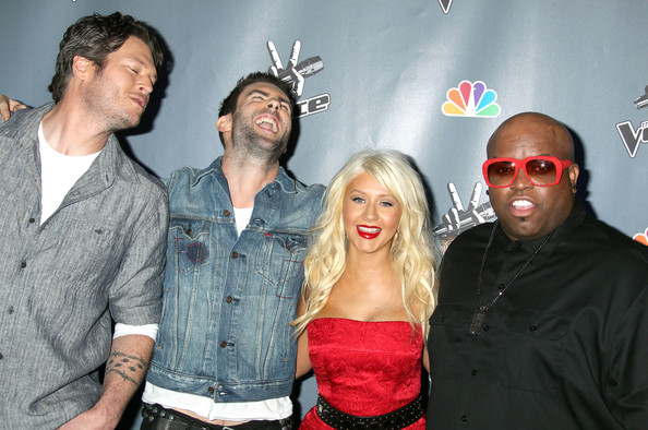 the voice christina aguilera 6 7 2011. NBC#39;s quot;The Voicequot; Press