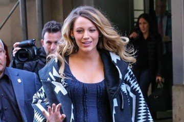 Blake Lively Pregnant Blake Lively Out And About In NYC