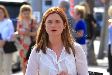 Bonnie Wright Bonnie Wright Spends Time Out in LA