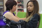 Bria Murphy Gets Her Nails Done in Beverly Hills