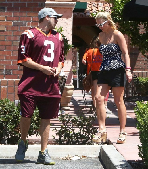 Britney Spears and David Lucado's Lunch Date