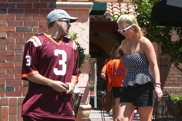Britney Spears Britney Spears and David Lucado's Lunch Date