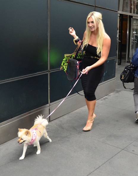 Photo of Brooke Hogan & her Dog