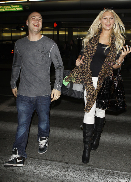 Brooke Hogan - Brooke & Nick Hogan Arriving At LAX Airport