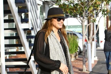 Brooke Shields Brooke Shields Shops at Fred Segal