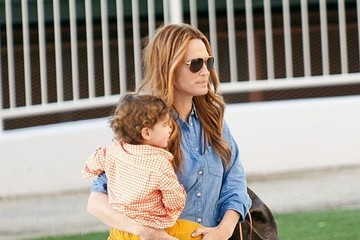 Brooks Stuber Molly Sims & Son At The Park