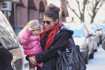 Bryn Hoppy Bethenny Frankel Picking Up Bryn From School