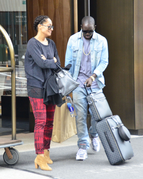 Tracee Ellis Ross and akon