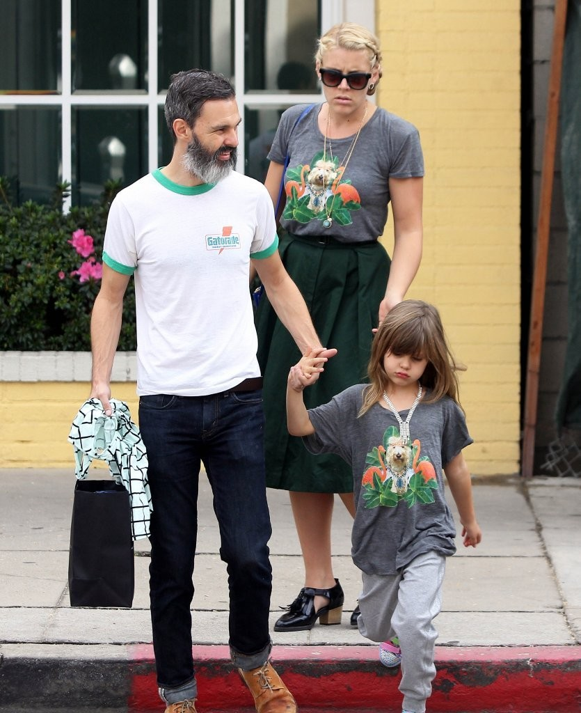 Marc Silverstein Photos Photos - Busy Philipps Spends the ...