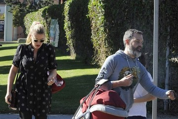 Busy Philipps Marc Silverstein Busy Philipps Out and About with Her Family