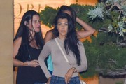 Caitlyn Jenner and Kourtney Kardashian Go out for Dinner at Nobu
