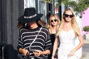 Candice Swanepoel Alessandra Ambrosio and Candice Swanepoel Go Shopping in West Hollywood
