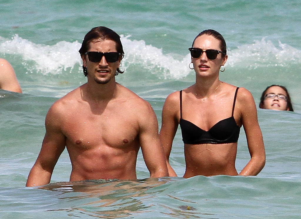Candice Swanepoel in Candice Swanepoel and Her Boyfriend ...