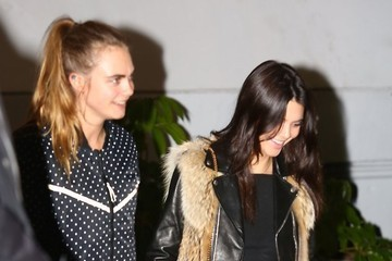 Cara Delevingne Celebrities Attend The Weeknd Concert