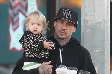 Carey Hart Carey Hart Takes Willow To Get Coffee