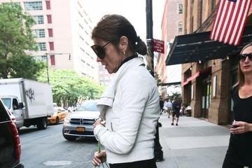 Carine Roitfeld Carine Roitfeld Steps Out in New York