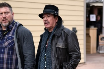 Carlos Santana Celebrities Out And About At The 2017 Sundance Film Festival