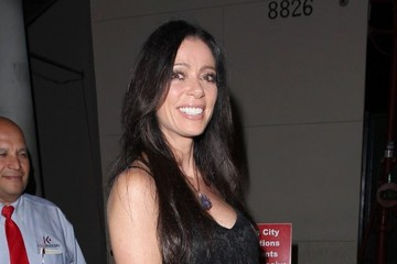 Carlton Gebbia Celebrities Dine Out at Craig's Restaurant