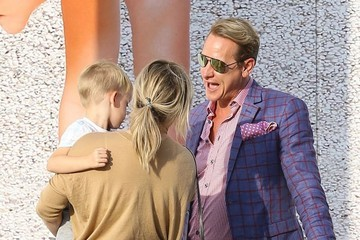 Carson Kressley Hilary Duff Goes out and About in Beverly Hills with Her Son