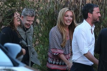 Cat Deeley Celebrities Dine Out at SoHo House