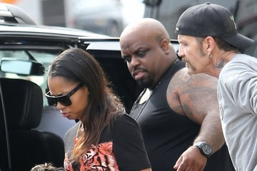 Cee-Lo Green Cee Lo Green Drinking In Public And Picking Up A Lady In West Hollywood