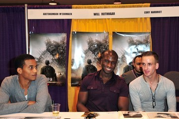 Adetokumboh M'Cormack Celebrities At The Anaheim Comic Con
