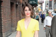 Celebrities At The 'Late Show With Stephen Colbert'