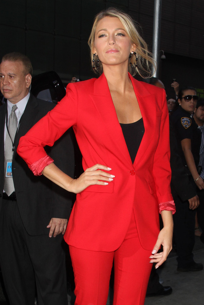 Good Morning America How Are You Chords : Blake lively photos celebrities stop by quot good