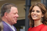 Maria Menounos and William Shatner Photos Photo