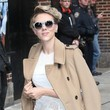 Scarlett Johansson Is Effortlessly Chic