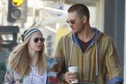 'Caveman' actor Chad Michael Murray and his fiancee Kenzie Dalton are a fashionable pair as they rock casual hippy chic fashion while getting coffee and shopping in Los Angeles, California on February 22nd, 2013.