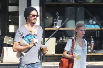 Chad Michael Murray Kenzie Dalton Chad Michael Murray Takes His Pup to a Canine Playroom