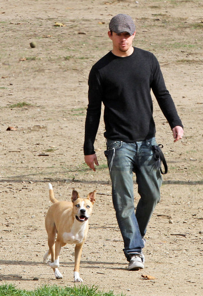 Photo of Channing Tatum & his  Dog Bucky