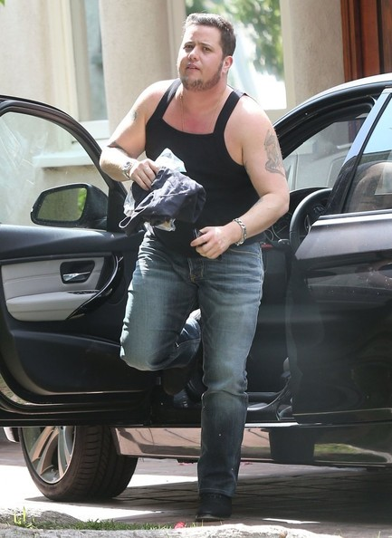 Chaz Bono Reality star Chaz Bono returning to his home after running ...