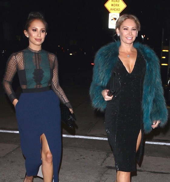Cheryl Burke and Kym Johnson Enjoy a Girl's Night Out []