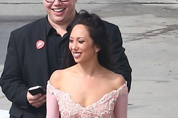 Cheryl Burke Celebs Are Seen at the 'Dancing With the Stars' Studio