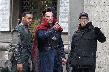 Chiwetel Ejiofor Stars Perform on the Set of 'Doctor Strange'